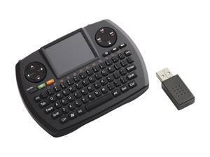 SMK-LINK VP6364 Black USB RF Wireless Ultra-Mini Touchpad Keyboard