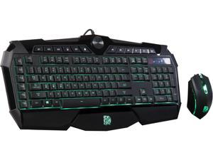 Tt eSPORTS CHALLENGER Prime RGB Gaming Keyboard and Mouse Combo