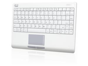 ADESSO WKB-4000BM White USB Bluetooth Wireless Keyboard