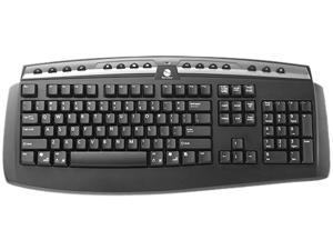 Gyration Classic Full-Size Wireless Keyboard GYAM-FSKB-NA Black USB RF Wireless Standard Keyboard