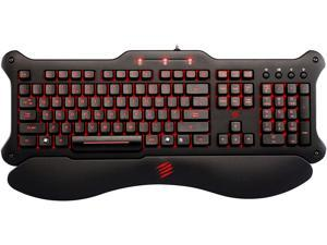 Mad Catz V5 MCB44026N0B2/04/1 Black Wired Keyboard
