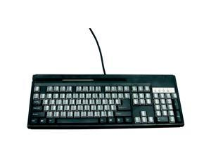 Unitech KP3700 KP3700-T2UBE Black USB Wired Standard Programmable Keyboard