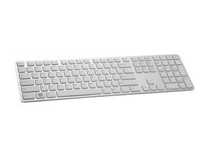 i-rocks KR-6402-WH White USB Wired Slim Aluminum X-Slim Keyboard for PC
