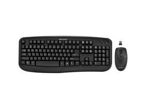 GEAR HEAD KB5150W Black USB RF Wireless Standard Desktop & Optical Mouse