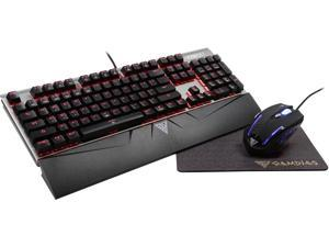 Gamdias Mechanical Gaming Keyboard and Mouse Combo with Bonus Mouse Mat