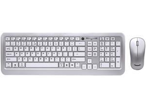 GE 98134 RF Wireless Standard Multimedia Keyboard & Optical Mouse