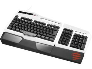 Mad Catz S.T.R.I.K.E. 3 MCB43112N001/04/1 White Wired Keyboard