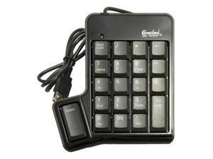 SYBA CL-USB-NUMSPC Black USB Numeric Keypad with space bar