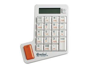 SYBA CL-KBD50005 White Numeric Keypad with Calculator