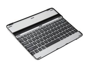 Connectland CL-KBD23025 Silver / Black Bluetooth Wireless Mini Keyboard for The New Apple iPad (3rd Gen), Protective Case and Stand