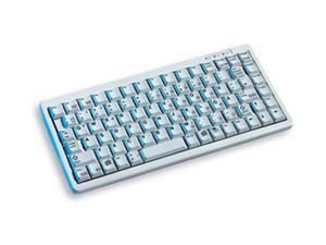 CHERRY Ultraslim G84-4100LPAUS-0 Light Gray Wired POS Keyboard