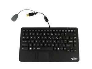 SEAL SHIELD Glow 2 S86PG2 Black Gold-plated USB Wired Mini All-in-One Mini Waterproof Keyboard