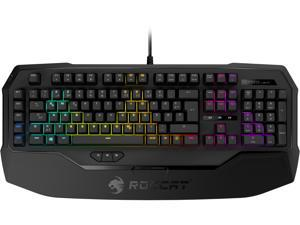 ROCCAT RYOS MK FX - RGB Mechanical Gaming Keyboard With Per-Key Illumination - Cherry MX Brown Switches