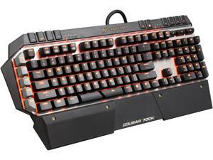 COUGAR 700K Premium Mechanical Gaming Keyboard with Aluminum Brushed Structure, Additional 6 G-key, and Cherry Blue Switches
