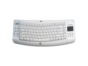 Ergoguys White RF Wireless Ergonomic Keyboard Mac Touchpad