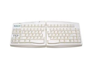 Goldtouch GTU-0033 White Wired Adjustable Keyboard