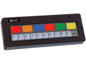 Logic Controls KB1700U-A-BK Keyboard