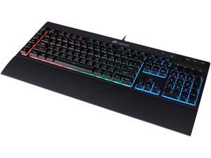 Corsair Gaming K55 RGB Keyboard, Backlit RGB LED