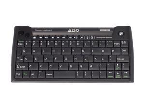 AZIO Mini Thumb Keyboard w/ Trackball KB178RT Black RF Wireless Keyboard