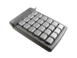 Genovation Control Pad Keypad 683 Gray PS/2 Wired Mini Keyboard