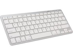 Eagle ET-KB200B-WH White Portable Bluetooth Keyboard for Tablets & Smartphones