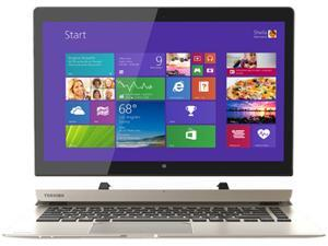 """Toshiba P35W-B3226 Click 2 Pro 13.3"""" FHD Touch 2-In-1 Ultrabook Laptop Intel i7-4510U 8GB Memory 128GB Solid State Drive Satin Gold"""