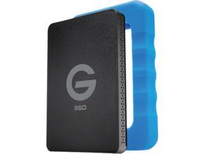 "G-Technology G-DRIVE ev RaW 500GB 2.5"" USB 3.0 SSD with Rugged Bumper"