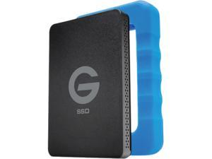"G-Technology G-DRIVE ev RaW 1TB 2.5"" USB 3.0 SSD with Rugged Bumper"
