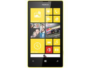Nokia Lumia 520 Unlocked GSM Windows 8 OS Cell Phone - Black/Yellow