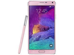 Samsung Galaxy Note 4 SM-N910G 4G LTE Pink 32GB Factory UNLOCKED 3GB RAM Smartphone