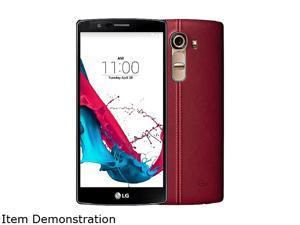 LG  G4 H815 32GB Smartphone (Unlocked, Red Genuine Leather)