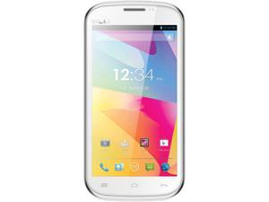 Blu Studio 5.0 E D530e White Dual-Core 1.3GHz Unlocked GSM Dual-SIM Android Cell Phone