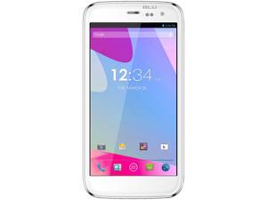 BLU Life One M L131U White 3G Quad-core 1.5 GHz Unlocked GSM Dual-SIM Android Cell Phone