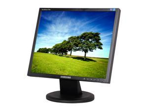 "SAMSUNG 740N-B1 Black 17"" 8ms  LCD Monitor, A Grade – No Back Cosmetic Cover Plate, Off Lease"