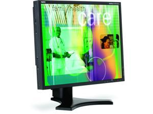 "NEC Display Solutions LCD1990SX-BK Black 19"" 25ms (8 ms G to G)  Professional LCD Monitor"