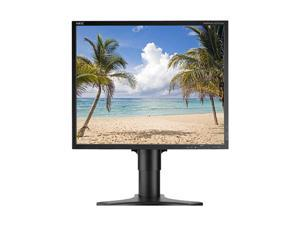 "NEC Display Solutions LCD1990SX-BK Black 19"" 25ms, 8ms(GTG) LCD Monitor"