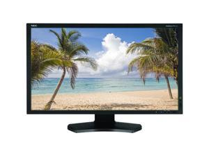 "NEC Display Solutions PA231W-BK Black 23"" 8ms Height, Swivel & Pivot Adjustable IPS Panel WideScreen LCD Monitor 270 cd/m2 ..."