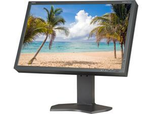 "NEC Display Solutions P-Series P241W-BK Black 24.1"" 8ms Widescreen LCD Monitor"