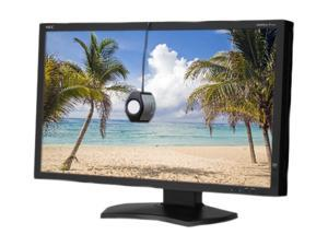"NEC Display Solutions P232W-BK-SV Black 23"" 8ms (GTG) HDMI Widescreen LED Backlight LCD Monitor, height & pivot adjustable, ..."
