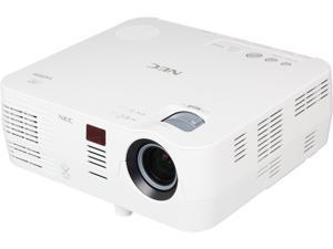 NEC Display NP-VE281 800 x 600 SVGA 2800 ANSI Lumens, 7W Speaker, Quick startup / cooldown / shutdown, Built-in Wall Collor Correction, 3D Ready DLP Projector