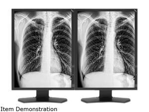 "NEC Display Solutions MDG3-BNDA1 Black 21.3"" 13ms Widescreen LED Backlight Medical Diagnostic LCD Monitor with Graphics Card"