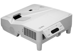 NEC Display Solutions NP-UM330X-WK 1024 x 768 3300 lumens LCD Ultra Short Throw Projector w/ Wall Mount