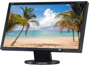 "NEC AS222WM-BK Black 21.5"" 5ms Widescreen LED Backlight LCD Monitor"