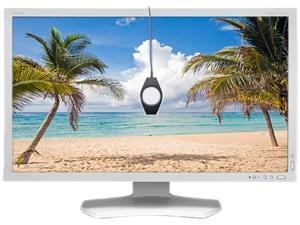 """NEC Display Solutions White 27"""" 6ms LED Backlight LCD Monitor Built-in Speakers"""