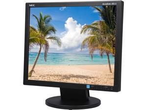 "NEC Display AccuSync AS172-BK 17"" LED LCD Monitor - 5:4 - 5 ms"