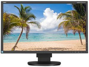 "NEC EA244UHD-BK 24"" 4K Widescreen LCD Monitor, 3840 x 2160, 1000:1, 350cd/m2, DVI-D&HDMI&USB Display Port, Built-in Speaker"