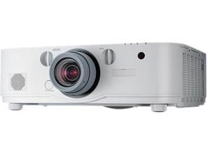 NEC NP-PA622U - LCD projector - 6200 lumens - 1920 x 1200 - 16:10 - HD 1080p - No Lens - LAN, Lens Sold Separately
