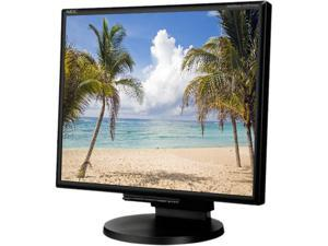 "NEC Display Solutions LCD195NXM-BK Black 19"" 5ms LCD Monitor"