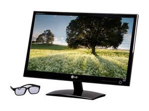"LG D2342PB-PN Glossy Black 23"" 5ms Widescreen LED Backlight 3D LCD Monitor"
