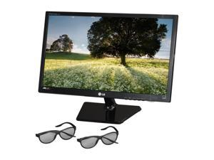 "LG D2343P-BN Black 23"" 5ms Widescreen LED Backlight LED backlight 3D Monitor"